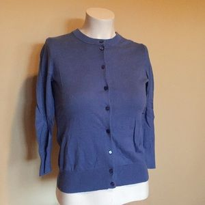 ✨SALE✨ J.Crew Factory blue Clare Cardigan XS